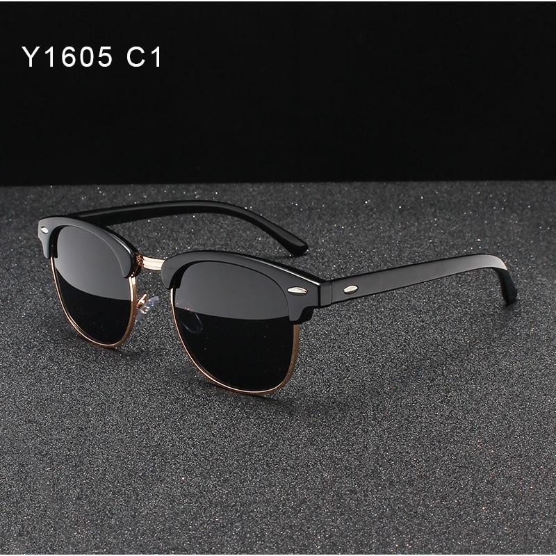 OLEY Brand Women Retro Polarized Sunglasses Fashion Classic Round UV Protection Unisex Goggles