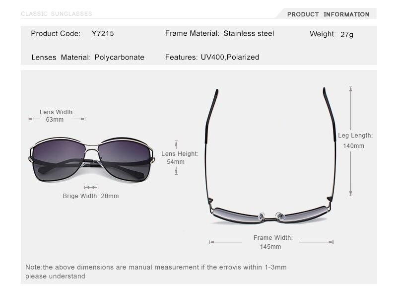 OLEY Brand Designer Big Frame Sunglasses Butterfly Shades For Women Fashion Quality Female Polarized glasses UV400 Y7215