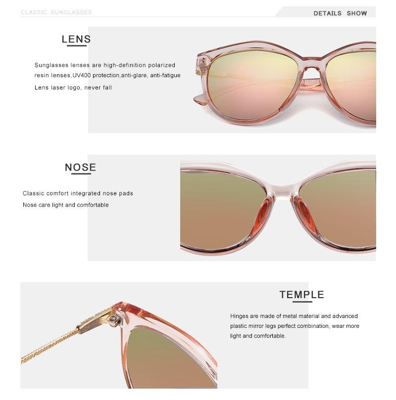 OLEY Brand Round Sunglasses Women Polarized Fashion Ladies Sun Glasses Female Vintage Shades Oculos de sol Feminino UV400 Y7405