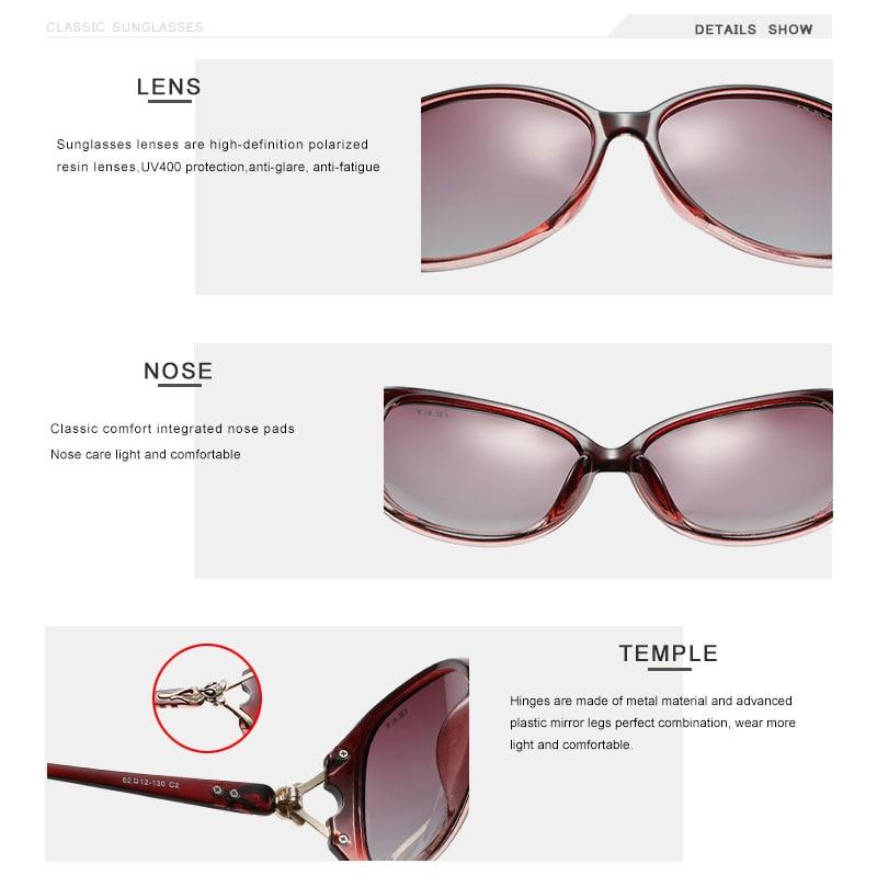 OLEY Brand butterfly Sunglasses Women Polarized Fashion Ladies Sun Glasses Female Vintage Shades Oculos de sol Feminino UV400