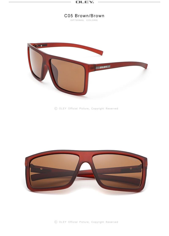 OLEY Photochromic Sunglasses Men Women Polarized Chameleon Glasses Driving Goggles Anti-glare Sun Glasses zonnebril heren