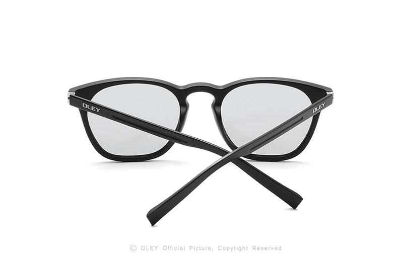 OLEY Fashion Women Polarized Sunglasses Classic Retro Round Photochromic Glasses Can do myopic glasses Accept custom logo Y0518