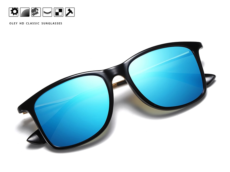 OLEY Polarized UV400 men's Sunglasses brand new male cool driving Sun Glasses driving eyewear gafas de sol shades with box