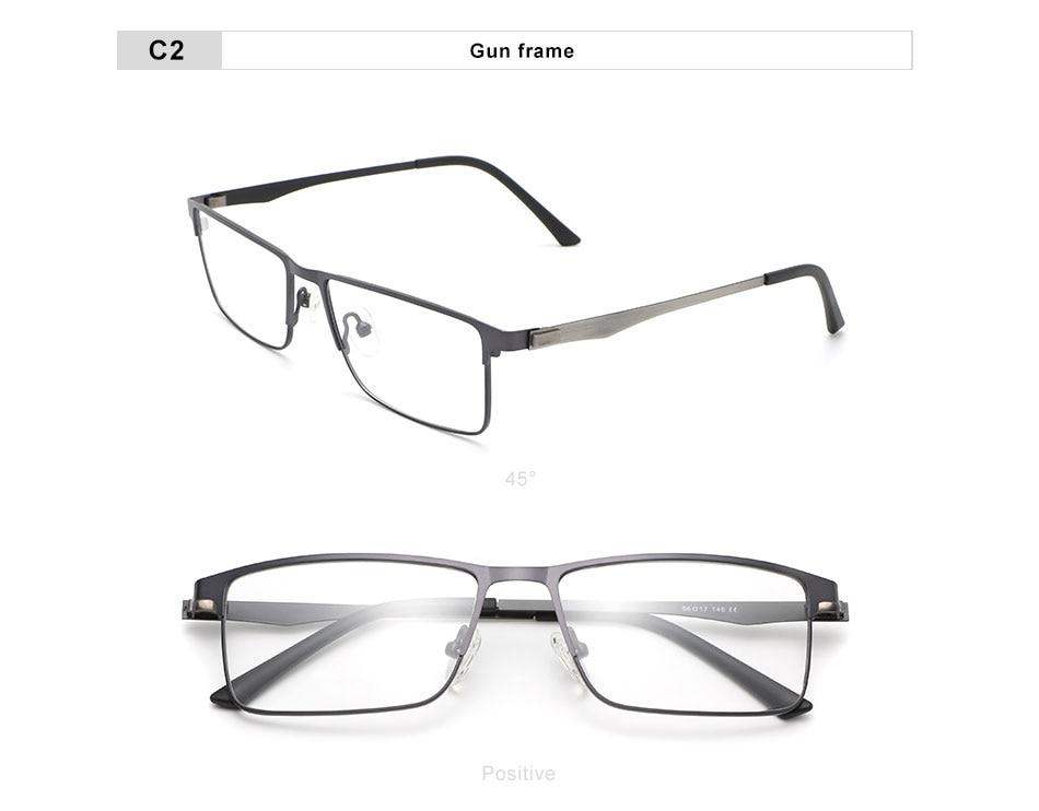 OLEY square classic titanium alloy optical glasses fashion office prescription glasses Myopia hyperopia presbyopia progressive