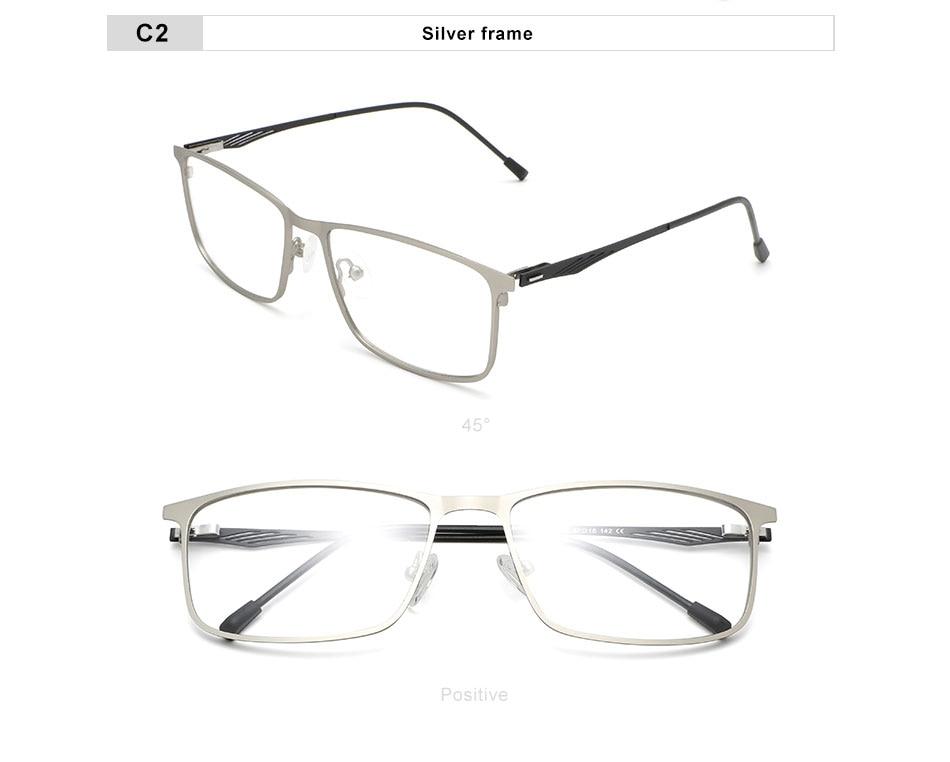 OLEY Titanium alloy optical glasses series classic square prescription glasses Myopia Hyperopia Presbyopia glasses Y7724