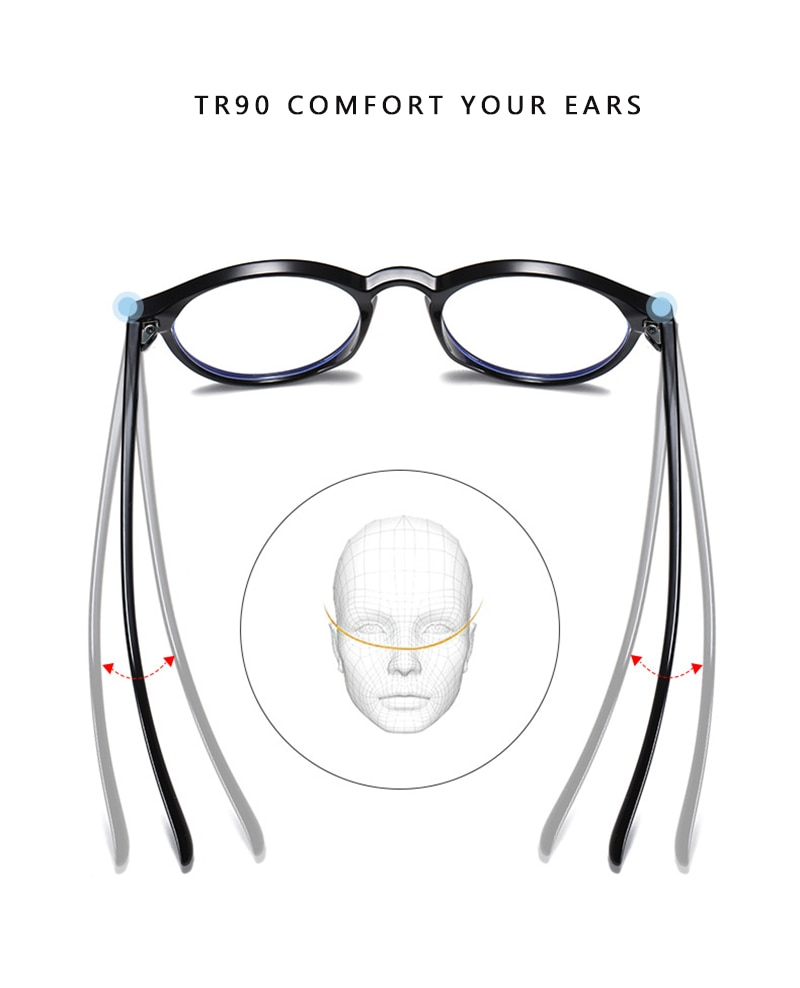 OLEY Anti Blue Light Glasses Men Goggles Protection Eyewear women Spectacle TR90 Gaming Computer Eyeglasses