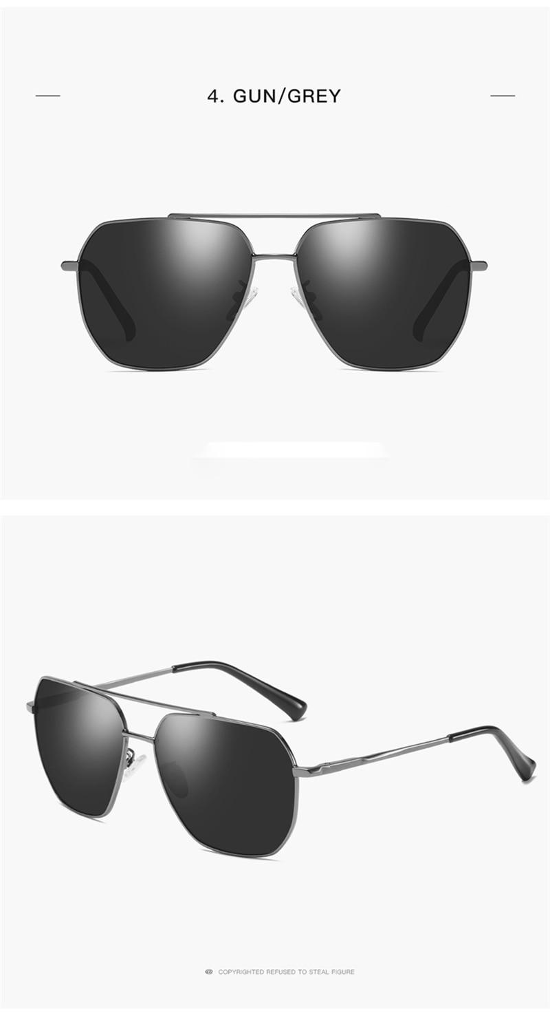 OLEY Men Vintage Pilot polarized Sunglasses Clasasic Brand Sun glasses Driving Eyewear For Men/Women