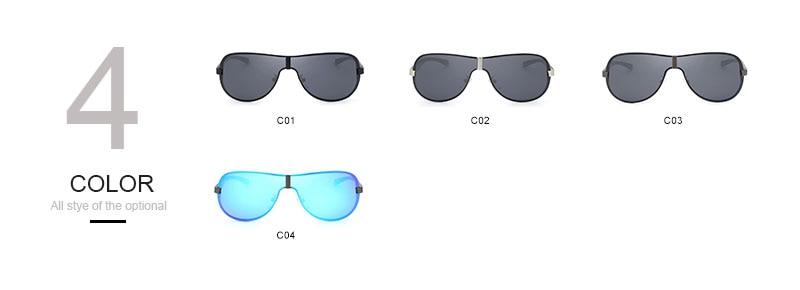 OLEY Aluminum Magnesium Men's Sunglasses Polarized Coating Mirror Sun Glasses oculos Male Eyewear Accessories For Men YA494