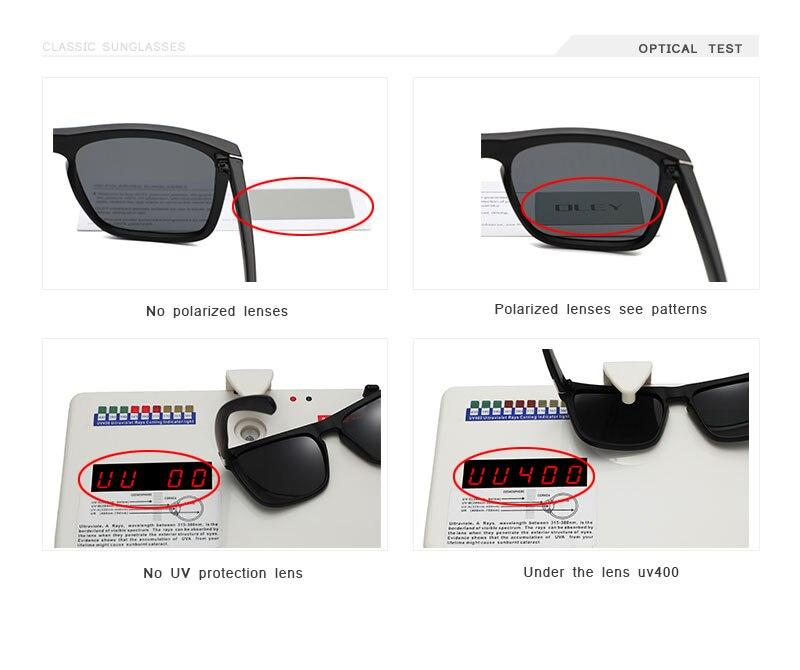 Fashion Guy's Sun Glasses From OLEY Polarized Sunglasses Men Classic Design Accept custom logo Mirror goggle With Brand Box