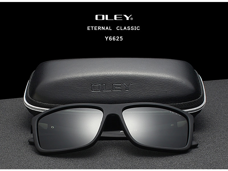 3PCS Combined Sale OLEY High quality polarized men sunglasses popular combo for 2019