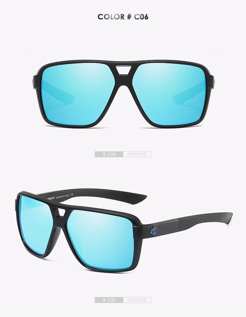 DUBERY Vintage Sunglasses Polarized Men's Sun Glasses For Men UV400 Shades Driving Black Goggles Oculos Male 8 Colors Model 167