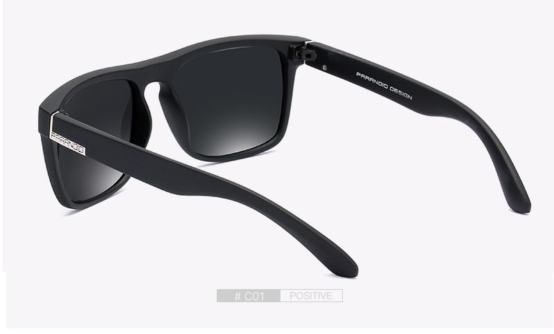 DUBERY Vintage Sunglasses Polarized Men's Sun Glasses For Men Driving Black Square Oculos Male 12 Colors Model 8731