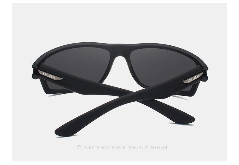 OLEY Polarized Sunglasses Men's Driving Shades Outdoor sports For Men Travel Oculos Gafas De Sol Customizable logo YG201