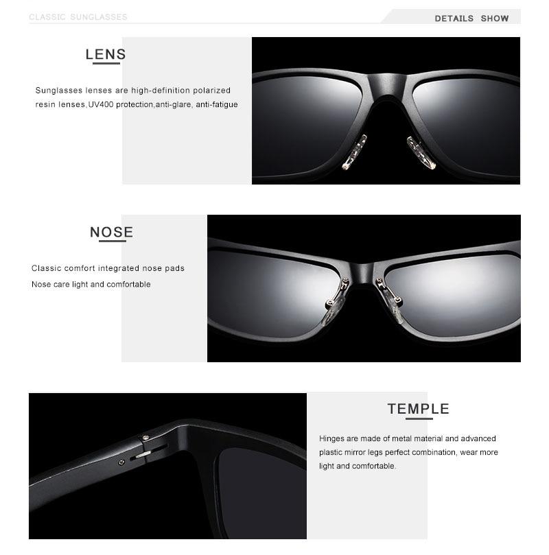 OLEY Aluminum Magnesium Men Sunglasses Polarized Coating Mirror Sun Glasses oculos Male Eyewear Accessories For Men Y7144