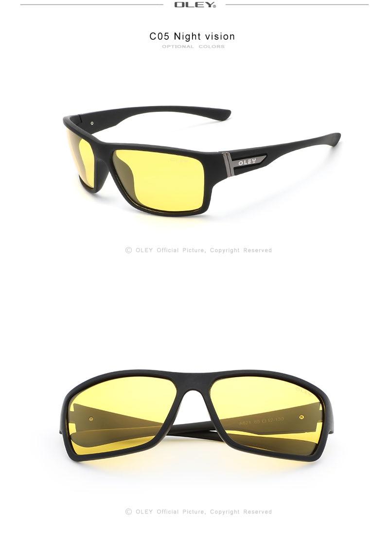 OLEY Brand Design 2020 New Polarized Sunglasses Men Fashion Male Eyewear Sun Glasses Travel Fishing Oculos Support custom logo