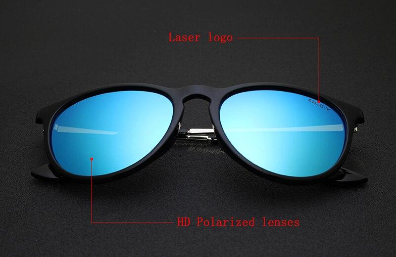 OLEY Polarized sunglasses women Retro Style Metal Frame Sun Glasses coating Famous Lady Brand Designer Feminino Y4171
