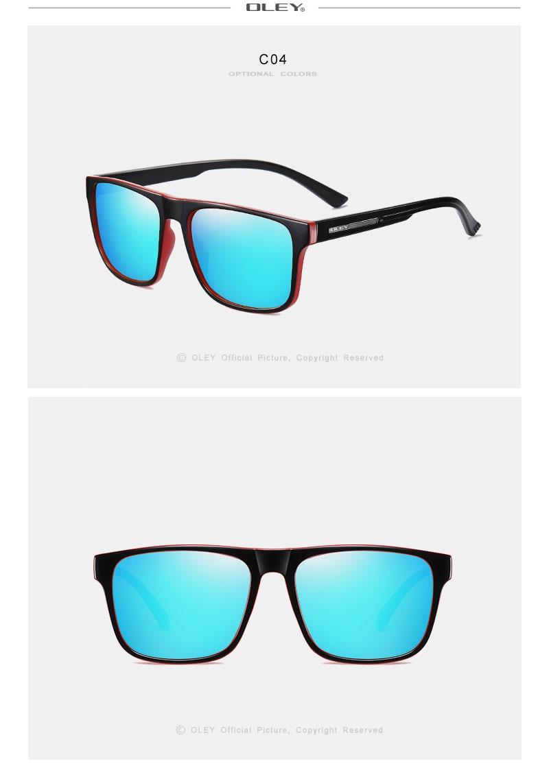OLEY Brand New Polarized Sport Men Sunglasses