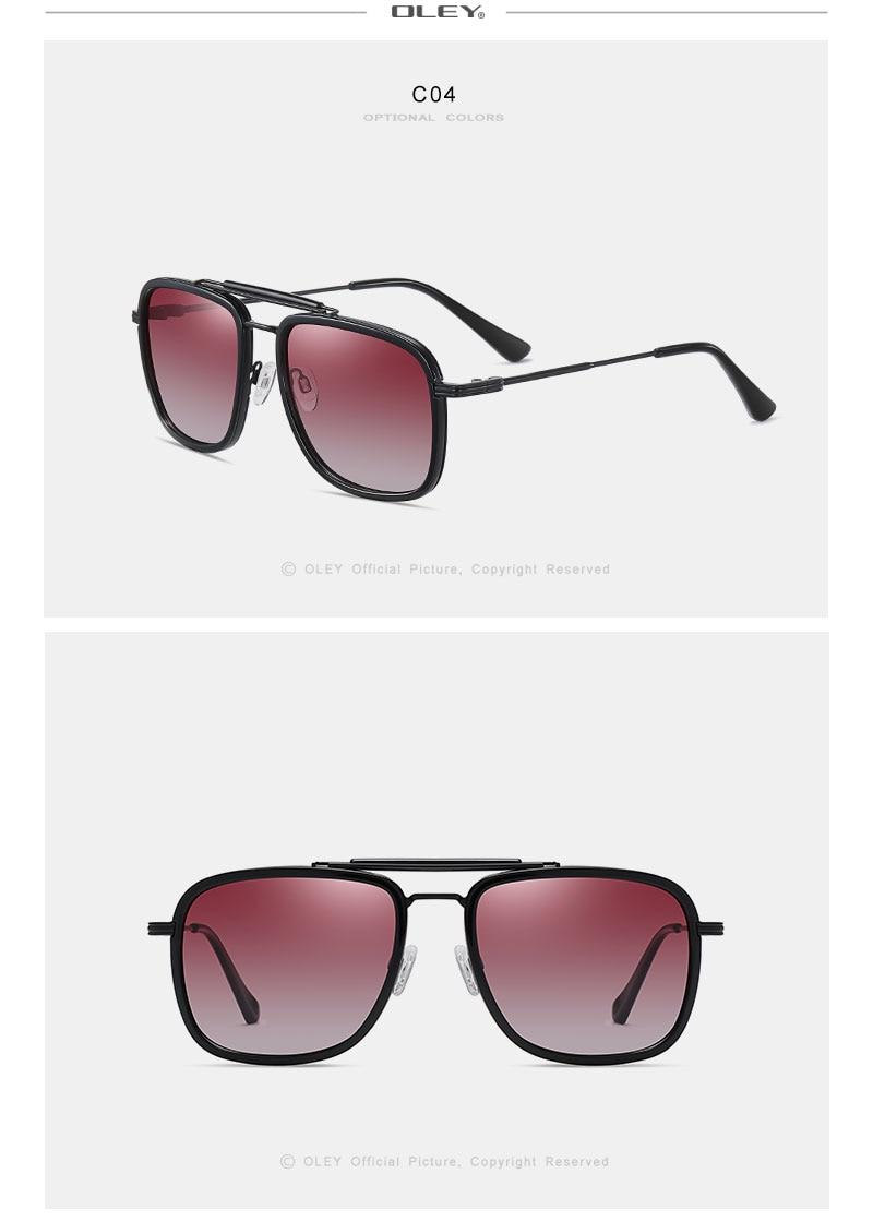 OLEY Mens Sunglasses Polarized