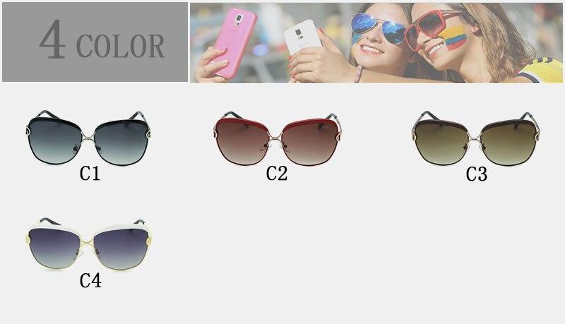 luxury Polarized sunglasses for women