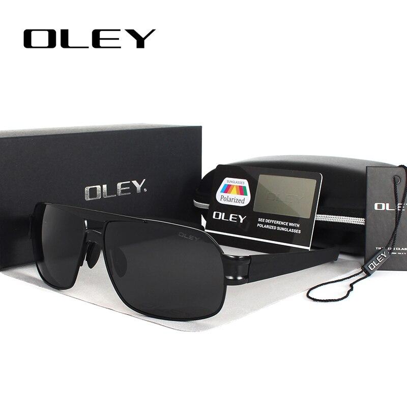 OLEY Polarized Men's Sunglasses Brand Designer UV400 Protect Sun Glasses Men spectacles fishing Accessories homens