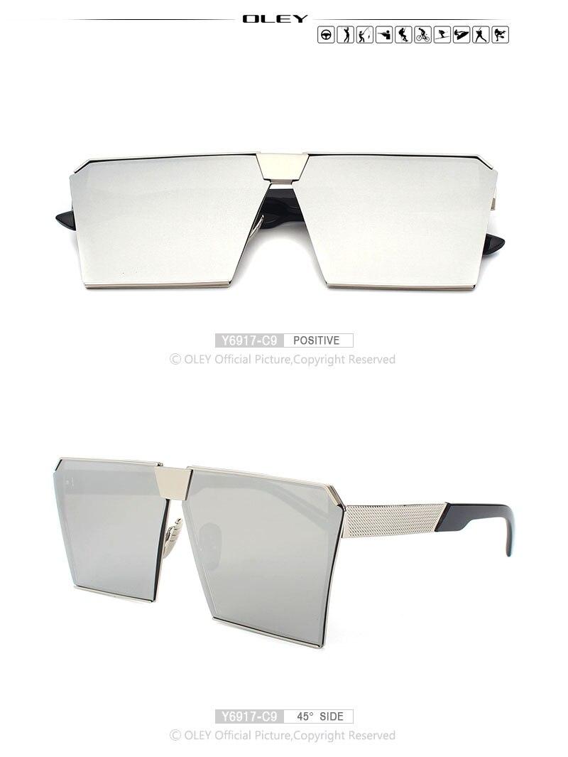 Top Fashion Square Sunglasses