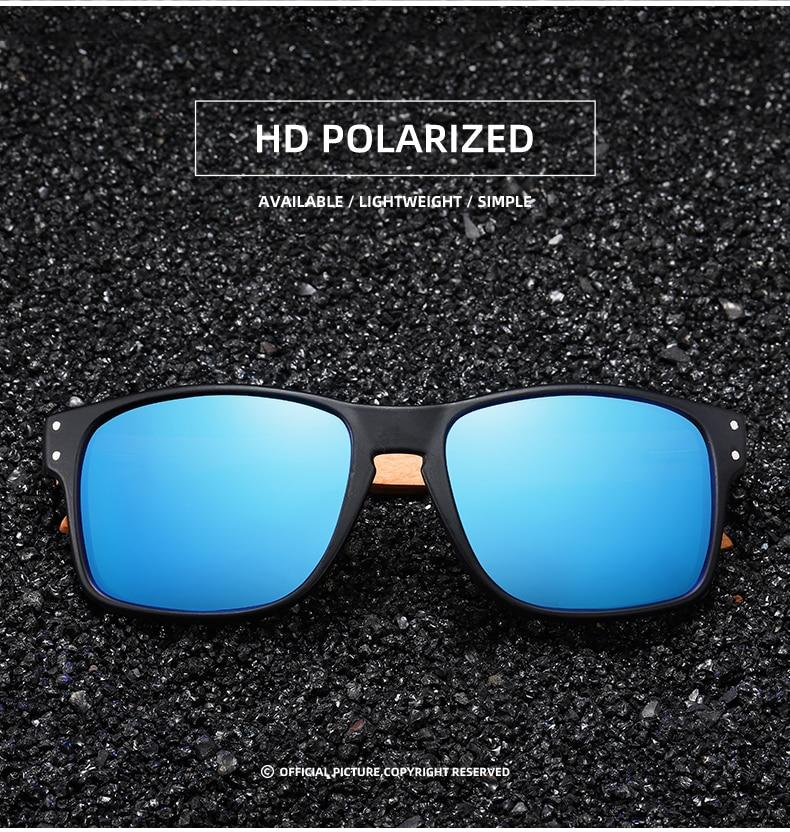 Brand Design Beech wood Handmade Sunglasses