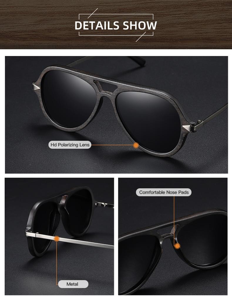 Wood Sunglasses Polarized