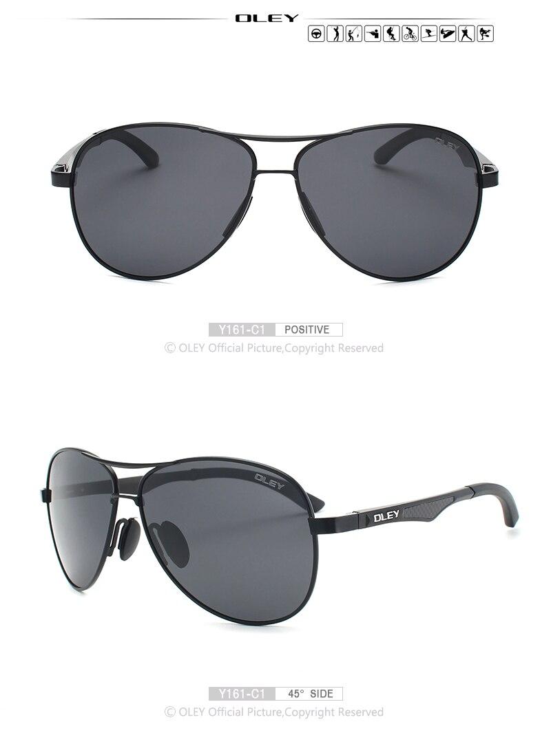 aluminum-magnesium polarized pilot sunglasses