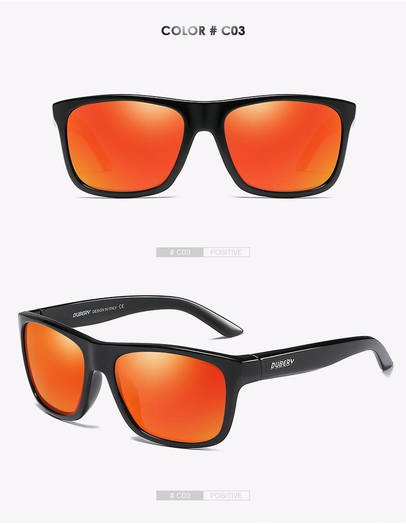 Polarized Sunglasses Men Ultralight Square