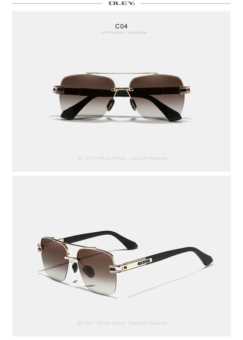 Fashion Design Sunglasses For Men Polarized